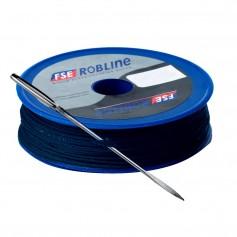 Robline Waxed Tackle Yarn Whipping Twine Kit w-Needle - Dark Navy Blue - 0-8mm x 40M