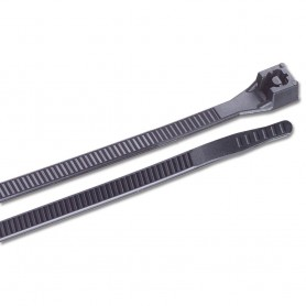 Ancor 6- UV Black Standard Cable Zip Ties - 25 Pack