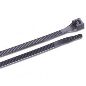 Ancor 14- UV Black Standard Cable Zip Ties - 100 Pack