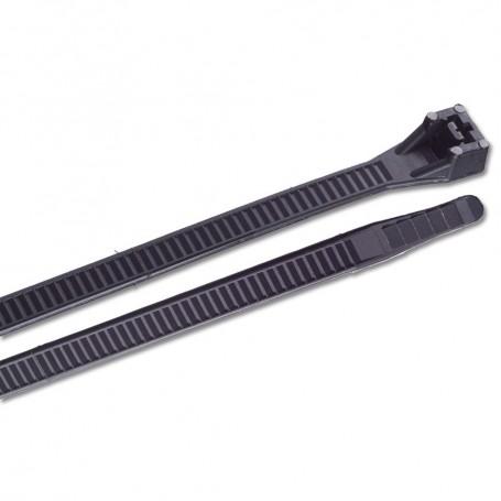 Ancor 15- UV Black Heavy Duty Cable Zip Ties - 25 Pack