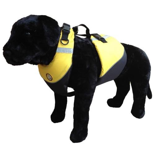 First Watch Flotation Dog Vest - Hi-Visibility Yellow - Medium