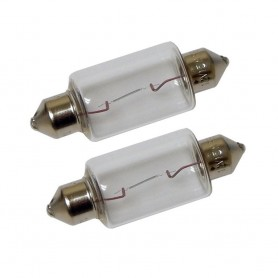 Perko Double Ended Festoon Bulbs - 12V- 15W- -97A - Pair