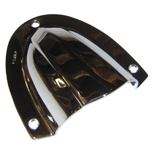 Perko Clam Shell Ventilator - Chrome Plated Brass - 4- x 3-3-4-