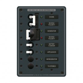 Blue Sea 8567 AC Toggle Source Selector -230V- - 2 Sources - 4 Positions