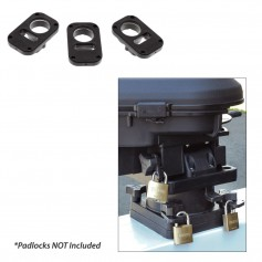 Scotty 3134 Downrigger Security System 3-Piece Locking Plates w-o Padlocks