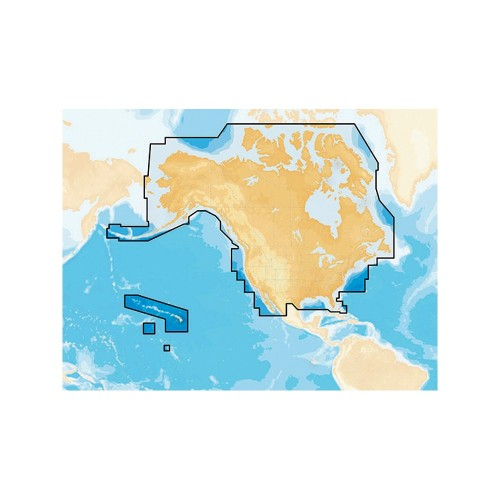 Navionics- Preloaded Chart of All USA-Canada -Marine - Lakes- microSD