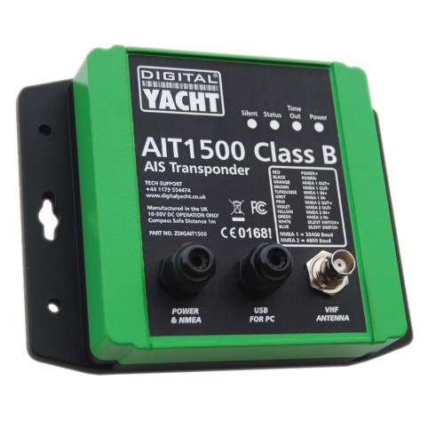 Digital Yacht AIT1500 Class B AIS Transponder w-Built-In GPS