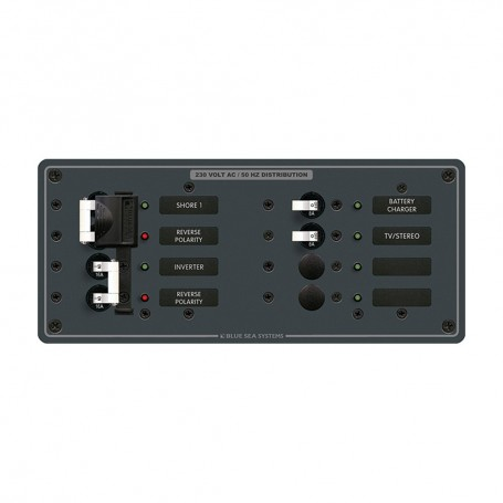Blue Sea 8599 AC Toggle Source Selector -230V- - 2 Sources - 4 Positions