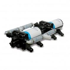 Shurflo by Pentair High Flow Dual Pump System - 12 VDC- 10-0 GPM