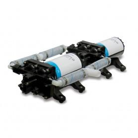 Shurflo by Pentair High Flow Dual Pump System - 24 VDC- 10-0 GPM