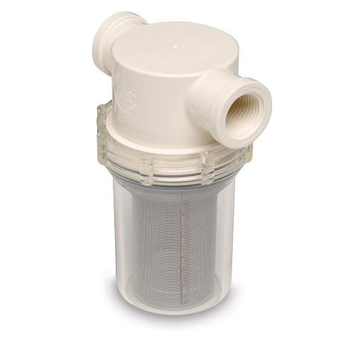 SHURFLO 1-2- Raw Water Strainer - 50 Mesh Screen