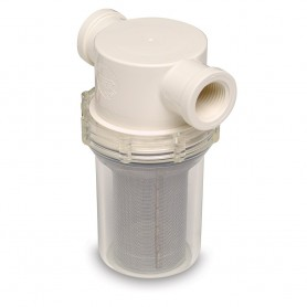 SHURFLO 3-4- Raw Water Strainer w-Bracket - Fittings - 50 Mesh Screen