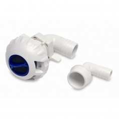Shurflo by Pentair Livewell Fill Valve w-3-4- 1-1-8- Fittings