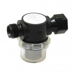 SHURFLO Swivel Nut Strainer - 1-2- Pipe Inlet - Clear Bowl