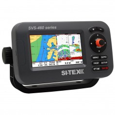 SI-TEX SVS-460CE Chartplotter - 4-3- Color Screen w-External GPS - Navionics- Flexible Coverage