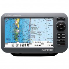 SI-TEX SVS-1010CE 10- Chartplotter w-External GPS Antenna - Navionics- Card