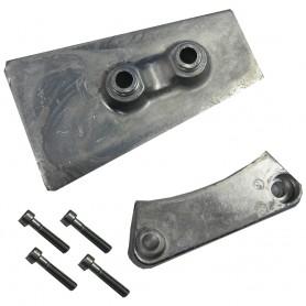 Tecnoseal Anode Kit - Volvo DPH-DPR - Aluminum
