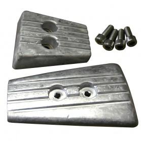 Tecnoseal Anode Kit - Volvo DPSA-SXA - Aluminum