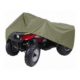 Dallas Manufacturing Co- ATV Cover - 150D Polyester - Water Repellent - Olive Drab