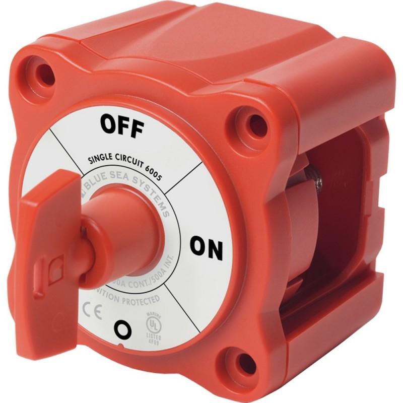 Blue Sea 6005 m-Series -Mini- Battery Switch Single Circuit ON-OFF