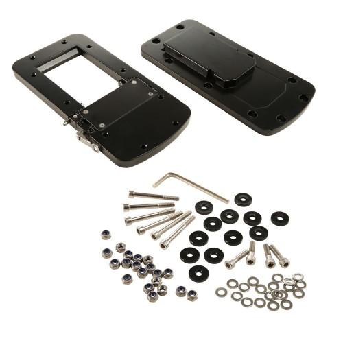 Motorguide Quick Release Bracket - Aluminum Black