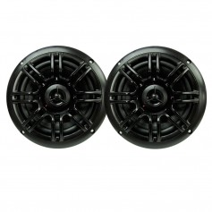 Milennia SPK652B 6-5-- 2-Way Marine Speakers - 150W - Black