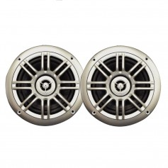 Milennia SPK652S 6-5-- 2-Way Marine Speakers - 150W - Silver