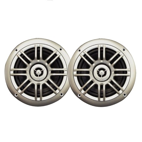 Milennia SPK652S 6-5-- 2-Way Marine Speakers - 150W - Silver