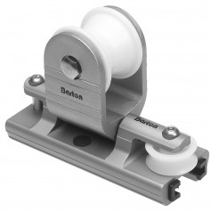 Barton Marine Towable Genoa Car - Fits 32mm -1-1-4-- T-Track