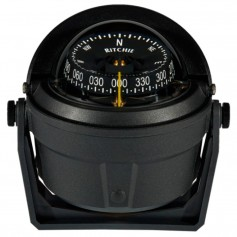 Ritchie B-81-WM Voyager Bracket Mount Compass - Wheelmark Approved f-Lifeboat - Rescue Boat Use