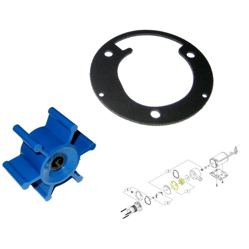 SHURFLO Macerator Impeller Kit f-3200 Series - Includes Gasket