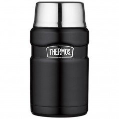 Thermos Stainless Steel King Food Jar - Black - 24 oz-