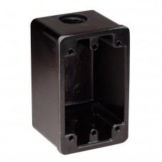 Marinco FS Box Black f-15A- 20A- 30A Receptacles