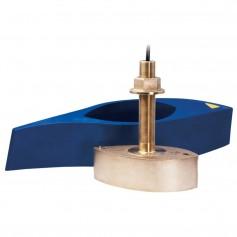 Furuno 526T-HDN Bronze Broadband Thru-Hull Transducer w- Temp and Hi-Speed Fairing Block- 1kW -No Plug-