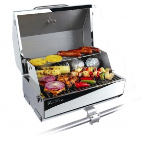 Kuuma Elite 216 Gas Grill - 216- Cooking Surface - Stainless Steel