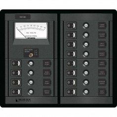 Blue Sea 1464 12 Position Switch CLB - Meter Square