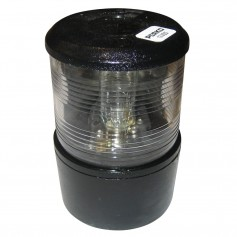 Perko Masthead Light f-Sail or Power Less Than 20M - 12VDC - Black Base Mount-White Light