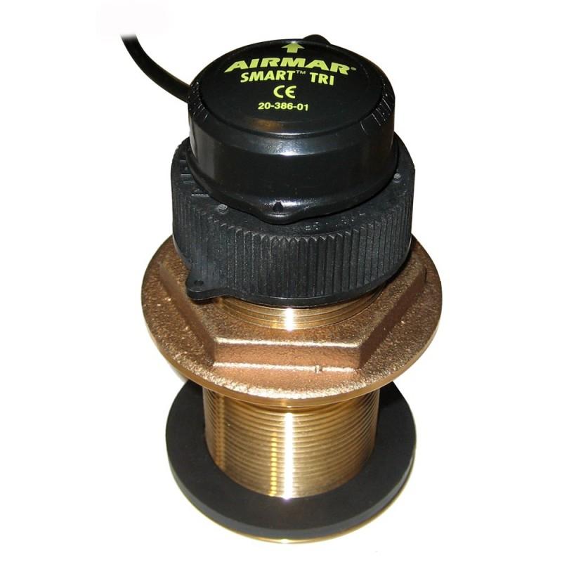 Furuno 235DST-MSE Bronze Thru-Hull- Digital Depth- Speed - Temp Sensor - 7-Pin