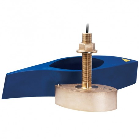 Garmin B265LH Bronze Thru-Hull Mount Transducer w-Depth - Temp - 12-Pin