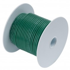 Ancor Green 14AWG Tinned Copper Wire - 100-