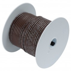 Ancor Brown 14AWG Tinned Copper Wire - 100-