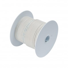 Ancor White 12 AWG Tinner Copper Wire - 100-