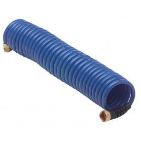 HoseCoil Blue Hose w-Flex Relief - 25-