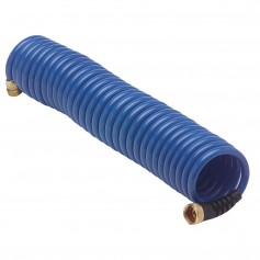 HoseCoil Blue Hose w-Flex Relief - 25-