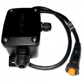 Garmin Bare Wire Transducer to 12-Pin Sounder Wire Block Adapter