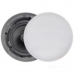 FUSION MS-CL602 Flush Mount Interior Ceiling Speakers -Pair- White