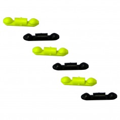 Scotty Stoppers f-Line Releases - Auto Stop - 6 Pack