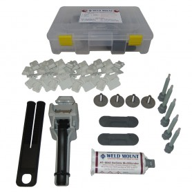Weld Mount Adhesively Bonded Fastener Kit w-AT 8040 Adhesive