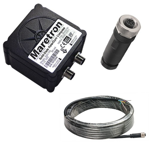 Maretron Solid-State Rate-Gyro Compass w-10m Cable - Connector