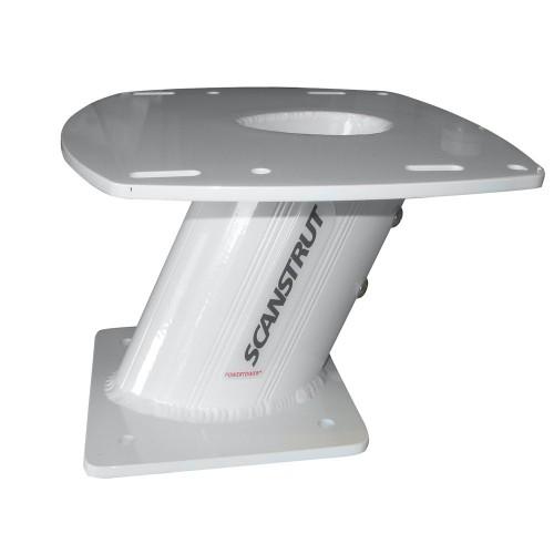 Scanstrut 10- Aluminum PowerTower f-2kW-4kW Raymarine- Garmin - Navico 3G-4G Radomes